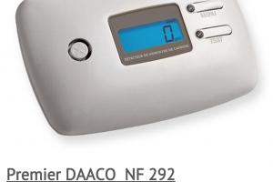 Détecteur de monoxyde de carbone SHD DAACO 10