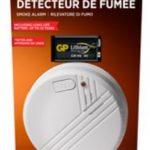 Détecteur de fumée batterie lithium 10 ans - HOUSEGARD