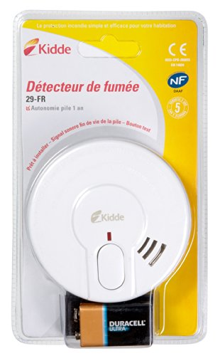 Un d tecteur de fum e pas cher et efficace le kidde 29 fr - Detecteur de fumee test comparatif ...
