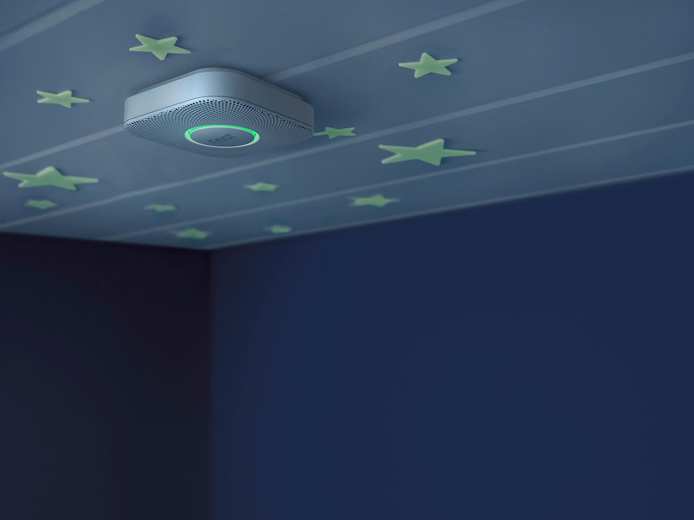 Nest Protect S2004BW - Blanc plafond nuit