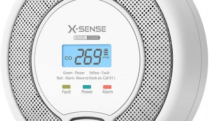 Test du détecteur de monoxyde de carbone X-Sense CO03D
