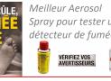Meilleur gaz d'essai pour détecteur de fumée