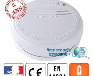 Test du détecteur de fumée Housegard (autonomie 1 an)