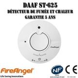 Test du détecteur de fumée Fireangel ST-625 FRT