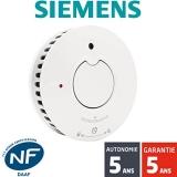 Test du détecteur de fumée Siemens 5TC1292-1