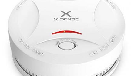 Test du détecteur de fumée X-SENSE SD13