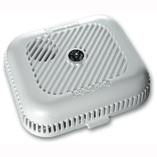 Ei Electronics Ei105H Détecteur de fumée NF Sans Fil 85dB Bouton Test Fonction Silence Blanc Pile 9V incluse