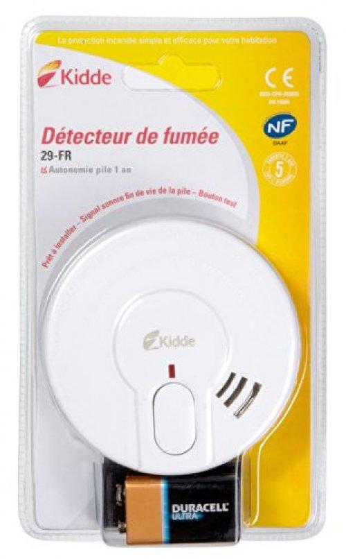 Kidde - Détecteurs de fumée - 29-FR